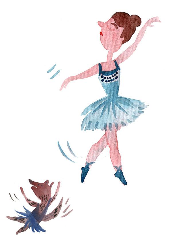 Plakát / Baletka