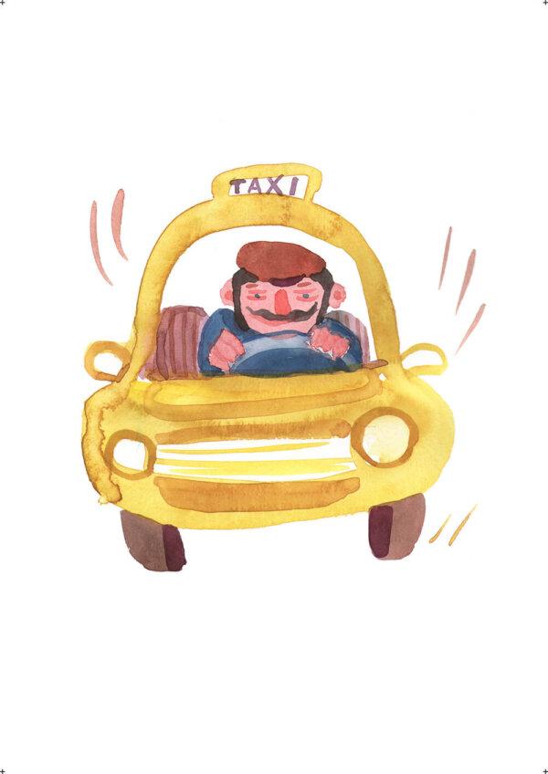Plakát / Taxi